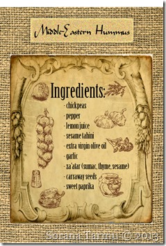 humus ingredients